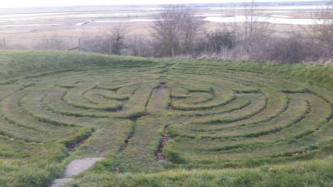 Julian's Bower: A medieval turf maze over-looking Alkborough Flats, North Lincolnshire